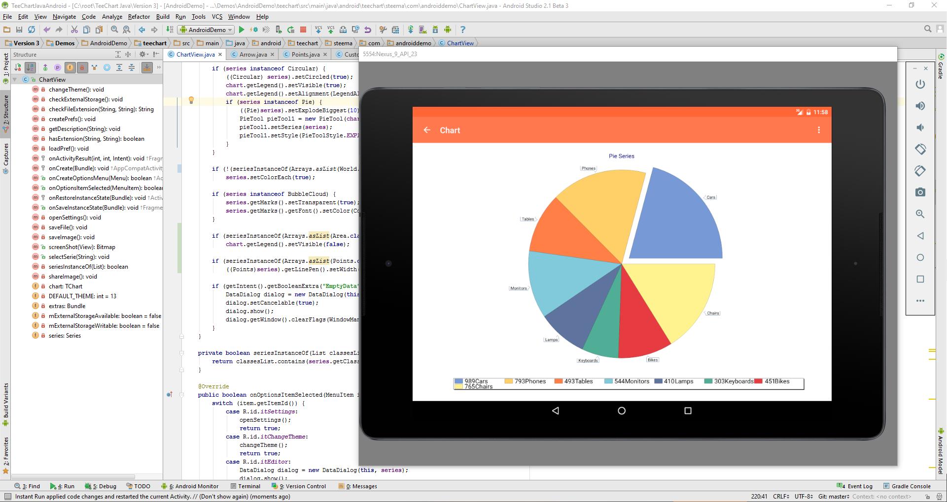 Steema news teechart javajava for android v320160419 update available baditri Gallery
