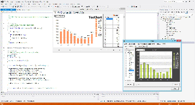 Using TeeChart for ActiveX in Visual Studio .NET using C#