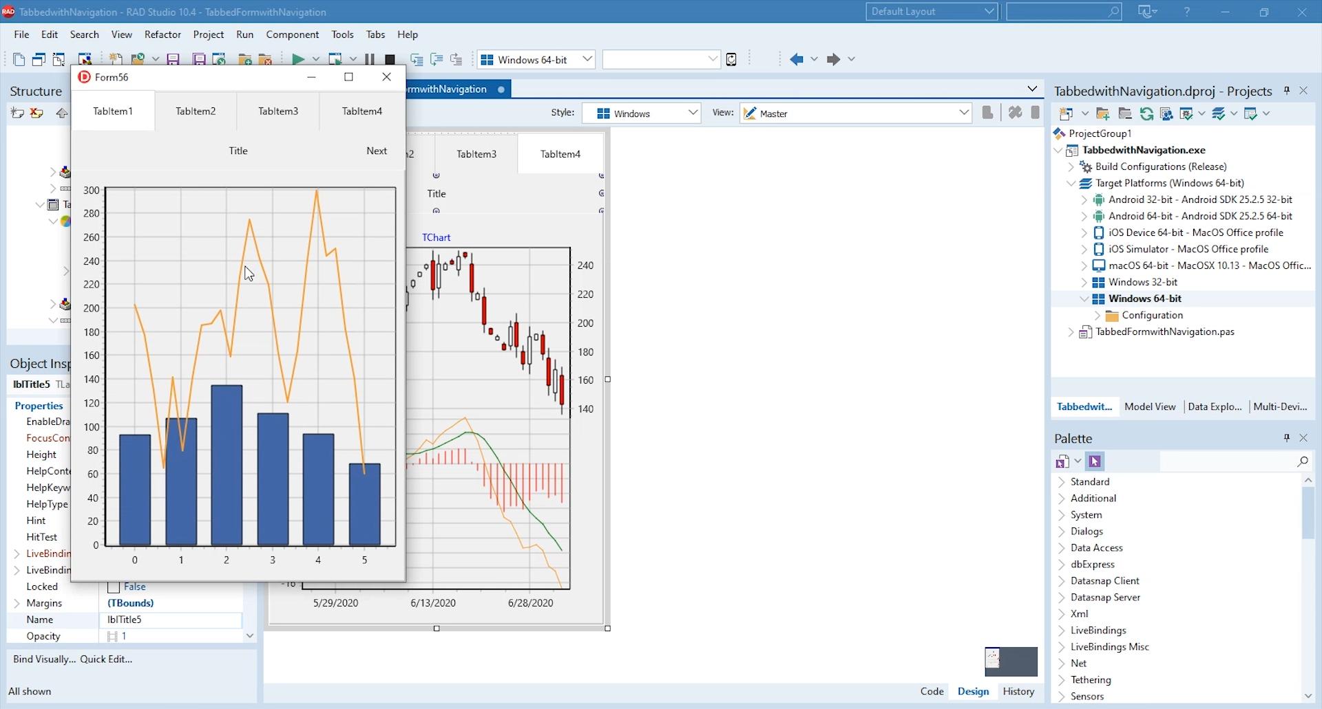 Windows 7 TeeChart Pro VCL / FMX 2021 full