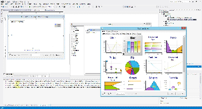 Using TeeChart for ActiveX in Visual Studio .NET using Visual C++.