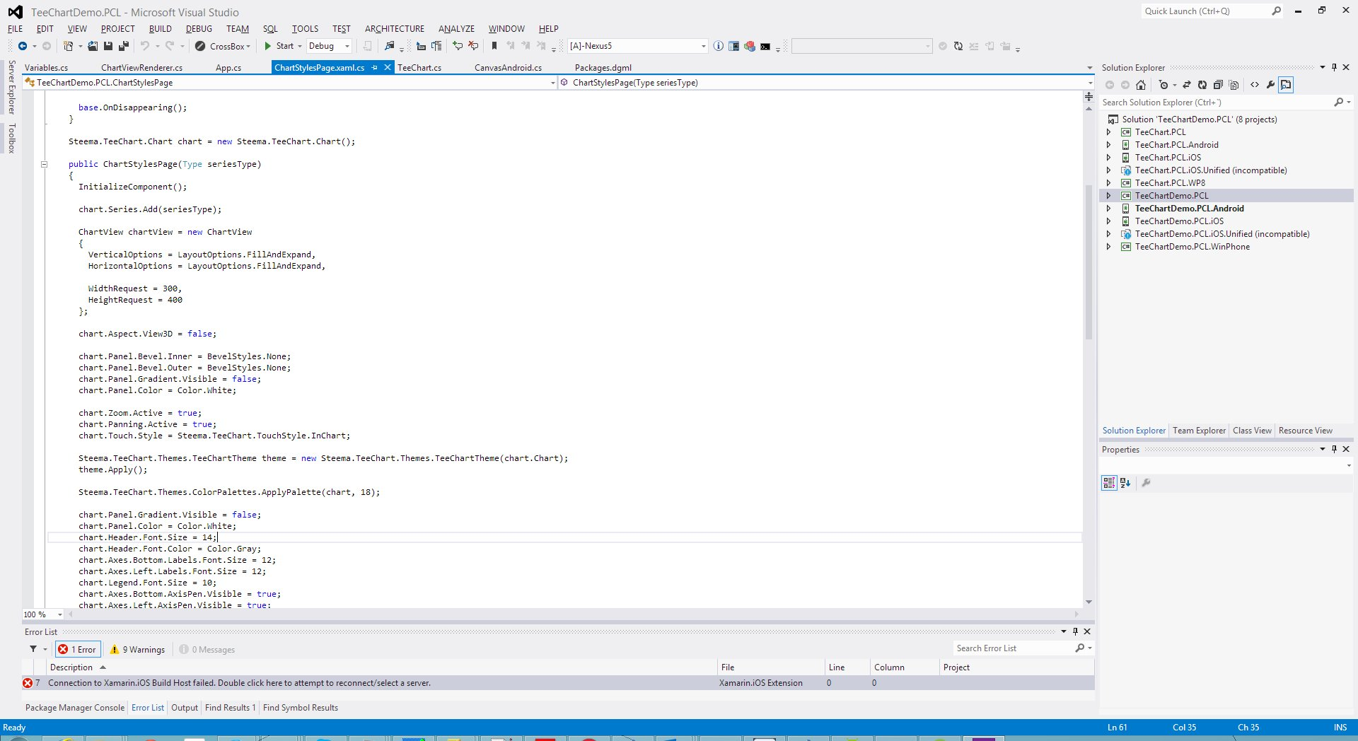 With Microsoft Visual Studio